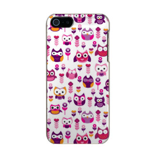 retro colourful owl bird pattern incipio feather® shine iPhone 5 case