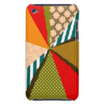 Retro Colourful Rays Cocktail iPod Touch Case