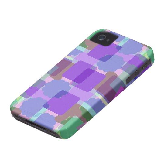 Retro Colours 4 iPhone 4 Case-Mate Case