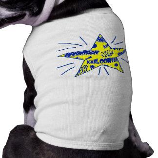 Retro Comic Call-Outs Star Dog Shirt