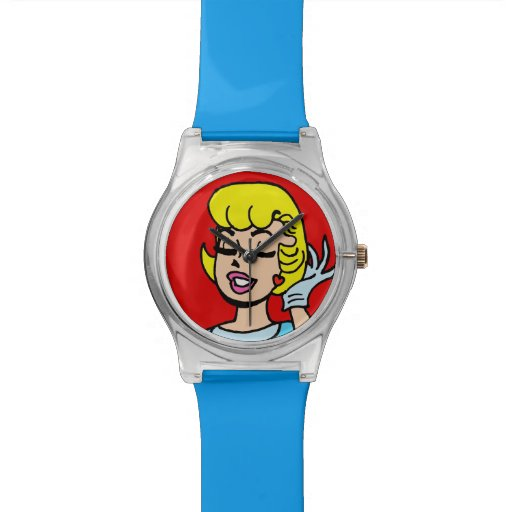 Retro Comic Strip Beauty Watch