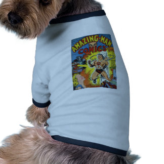 Retro comics dog clothing