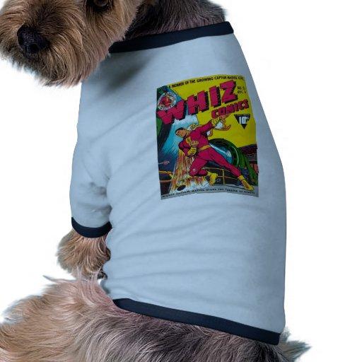 Retro Comics! Dog Tshirt