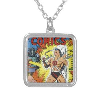 Retro comics custom jewelry