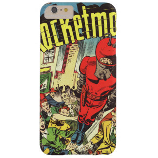 Retro comics - Rocketman Barely There iPhone 6 Plus Case