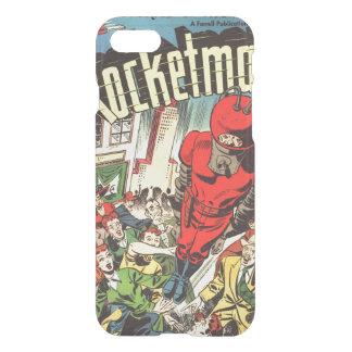 Retro comics - Rocketman iPhone 7 Case