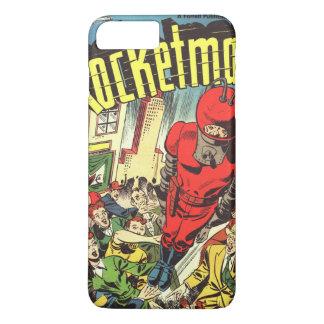 Retro comics - Rocketman iPhone 7 Plus Case