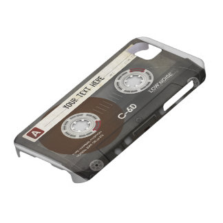 Retro Compact Audio Cassette | DJ Best Gifts Case For The iPhone 5