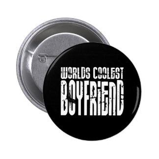 Retro Cool Boyfriends : Worlds Coolest Boyfriend 6 Cm Round Badge