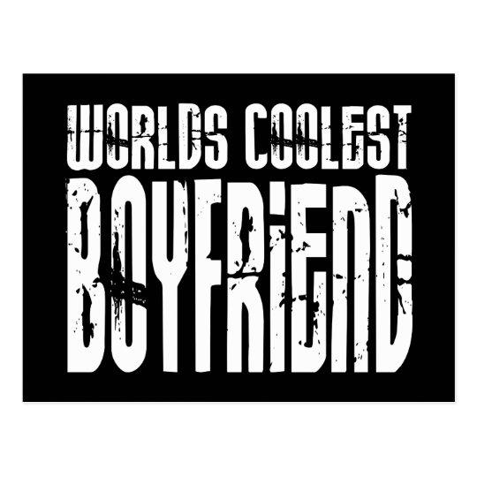 Retro Cool Boyfriends : Worlds Coolest Boyfriend Postcard
