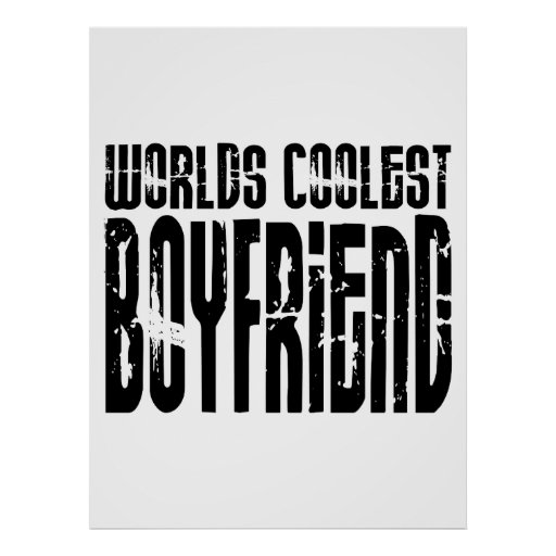 Retro Cool Boyfriends : Worlds Coolest Boyfriend Print
