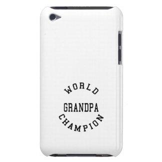Retro Cool Grandpas Gifts World Champion Grandpa iPod Touch Covers