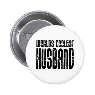 Retro Cool Husbands : Worlds Coolest Husband Pinback Button