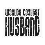 Retro Cool Husbands : Worlds Coolest Husband Canvas Prints