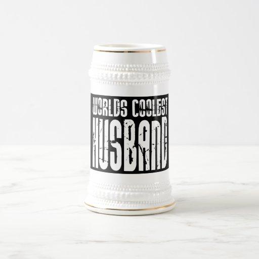 Retro Cool Husbands : Worlds Coolest Husband Mugs