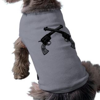 Retro Crossed Pistols Shirt