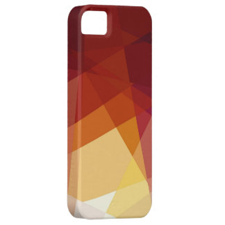 Retro cubism abstract art iPhone 5 case