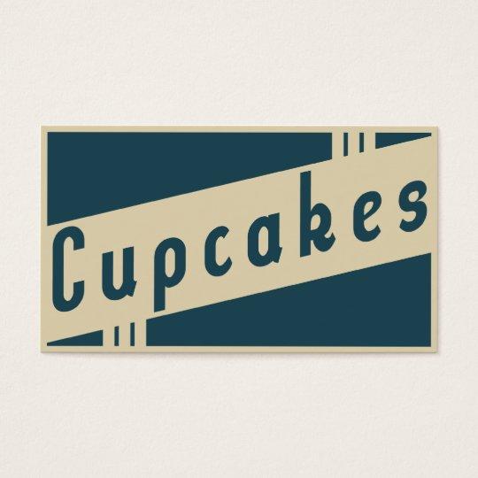 retro cupcakes get one free cards