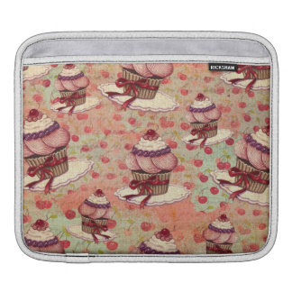 Retro Cupcakes Sleeves For iPads