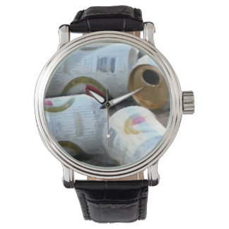 Retro Custom to beer Wristwatches