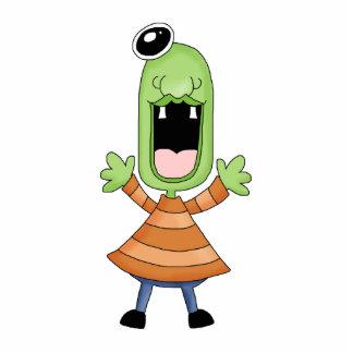 Retro Cute Monster Alien Photo Cutouts