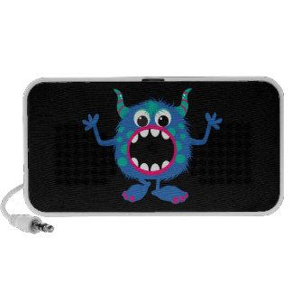 Retro Cute Monster iPhone Speakers