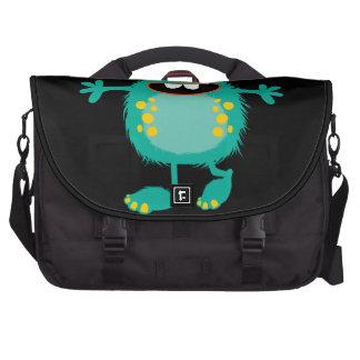 Retro Cute Monster Computer Bag