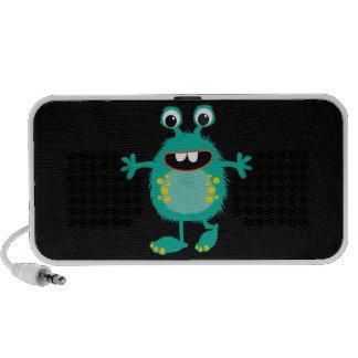 Retro Cute Monster Mini Speaker