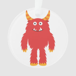 Retro Cute Monster Ornament