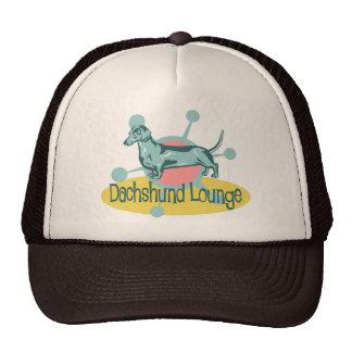 Retro Dachshund Lounge Cap