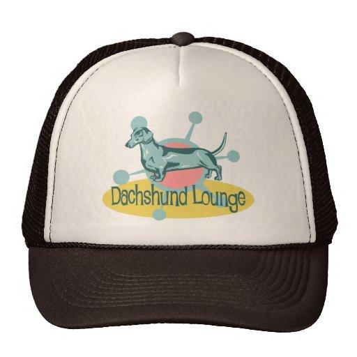 Retro Dachshund Lounge Hat
