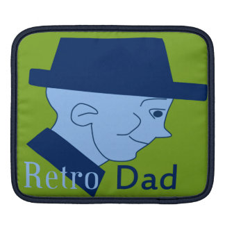 Retro Dad Sleeves For iPads