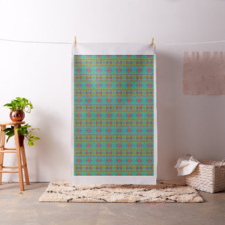 Retro Daffodil Pattern Fabric