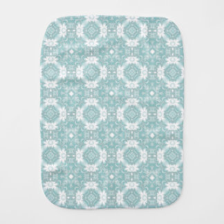 Retro Daisies Burp Cloth