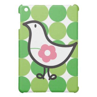 Retro Daisy Baby Chick Bird Whimsical Cute Dots iPad Mini Covers