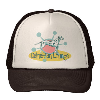 Retro Dalmatian Lounge Cap