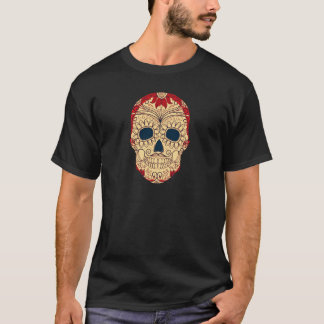 Retro Day of the Dead Sugar Skull T-Shirt
