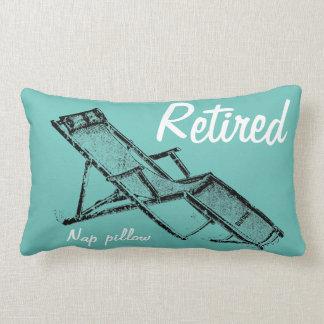 Retro Deckchair Retired Nap Lumbar Pillow 2