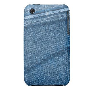 Retro Denim Texture Case-Mate iPhone 3 Cases