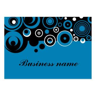 Retro design business cards