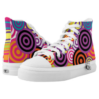Retro Design Collection Printed Shoes