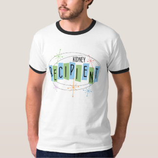 Retro-design kidney recipient t-shirt