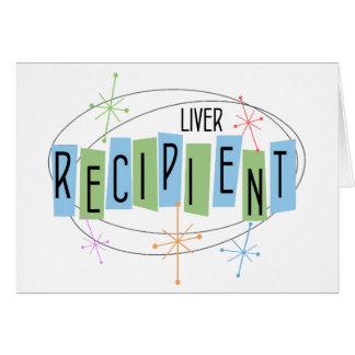 Retro design Liver Transplant Recipient Card