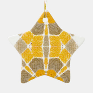 Retro design pattern one christmas ornament