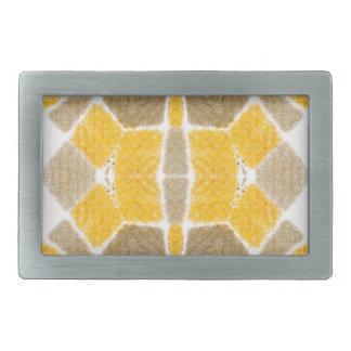 Retro design pattern one rectangular belt buckles