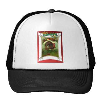 Retro design Thanksgiving clothes Trucker Hat