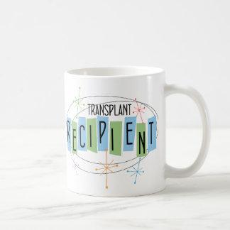 Retro design transplant recipient coffee mug