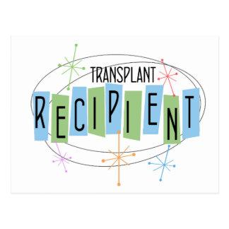 Retro design Transplant Recipient Postcard