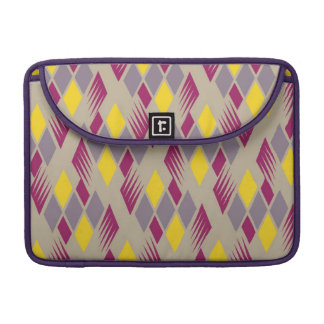 Retro diamond pattern 4 sleeves for MacBook pro