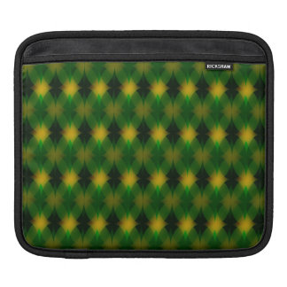 Retro diamond pattern iPad sleeve